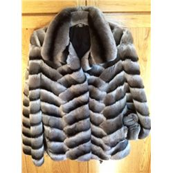 Ladies Chin-Rex Fur Jacket