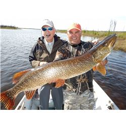 4-Day Fishing Trip for Two Anglers in Saskatchewan, Canada