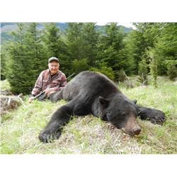 5-Day Vancouver Island Black Bear Hunt for One Hunter - Includes Trophy Fee