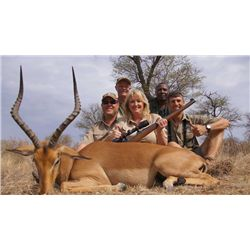 7-Day Plains Game for Two Hunters and Two Non-Hunters in South Africa - Includes Trophy Fees, Wingsh