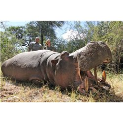 10-Day Buffalo, Crocodile and Hippo Hunt for One Hunter and One Non-Hunter in Namibia - Includes Tro