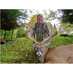 5-Day Whitetail Hunt for Two Hunters in Wisconsin - Includes Trophy Fees