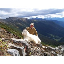 10-Day Moose OR Mountain Goat Hunt for One Hunter in British Columbia - Includes Trophy Fee