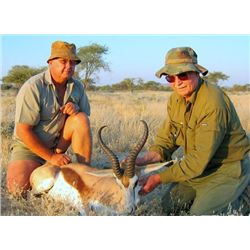 5-Day Plains Game Hunt for Two Hunters and Two Non-Hunters in Namibia - Includes Trophy Fees