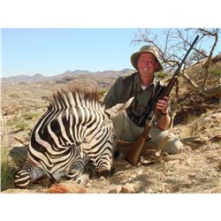 7-Day Mountain Zebra Hunt for One Hunter and One Non-Hunter in Namibia - Includes Trophy Fee