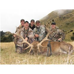 5-Day Red Stag Hunt for Two Hunters and Two Non-Hunters - Includes Trophy Fees, Spa Services and Mor