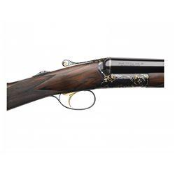 One-Of-Kind Beretta 486 SxS Engraved 20 GA Shotgun