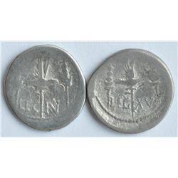 Mark Antony 44-30 BC - Lot of Two