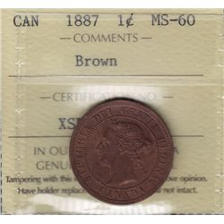 1887 One Cent