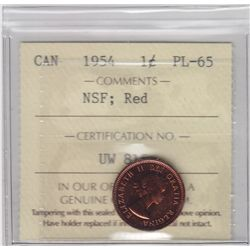 1954 One Cent