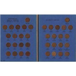 1920 - 1972 Small Cent Collection