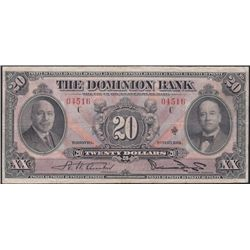 1931 Dominion Bank $20