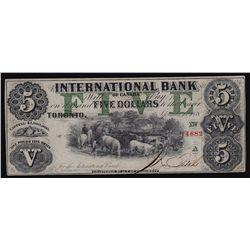 1858 International Bank $5