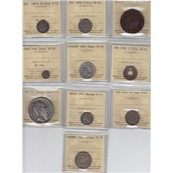 World Coins - Latin America, Lot of 10 Coins