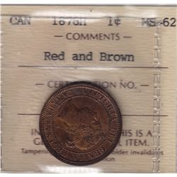 1876H One Cent
