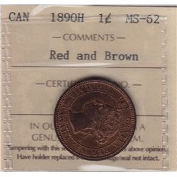 1890H One Cent