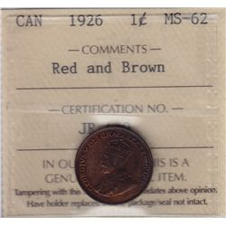 1926 One Cent