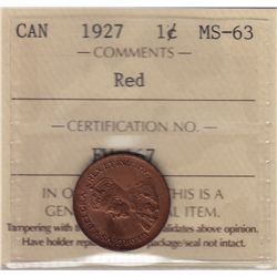 1927 One Cent
