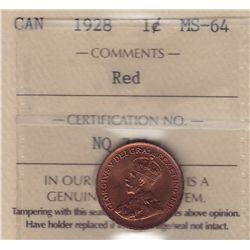 1928 One Cent