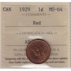 1929 One Cent