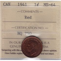 1941 One Cent