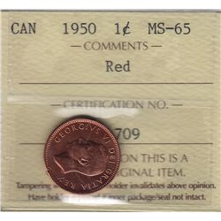 1950 One Cent