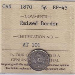 1870 Five Cent