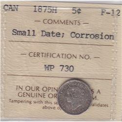 1875H Five Cent