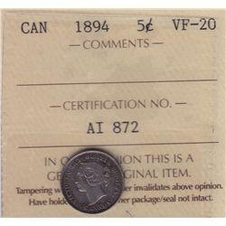 1894 Five Cent