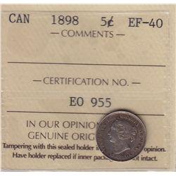 1898 Five Cent
