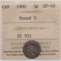 1900 Five Cent