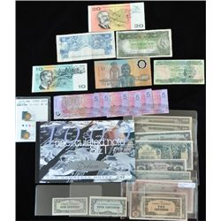 Lot of Australia & Other Notes