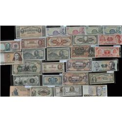 Lot of 29 South America Bank Notes