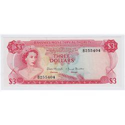 1968 Bahamas $3
