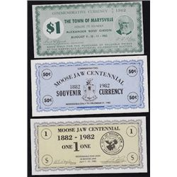 Lot of 8 Scrip