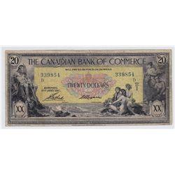 1917CanadianBankofCommerce$20
