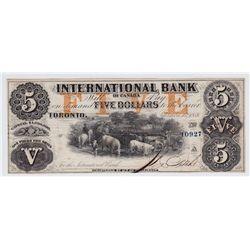 1858 International $5