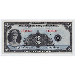 1935 Banque Du Canada $2
