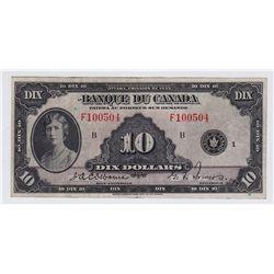 1935 Banque Du Canada $10
