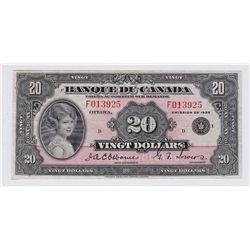 1935 Banque du Canada $20