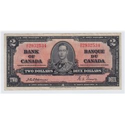 1937 Bank of Canada $2
