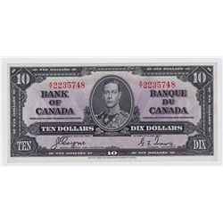 1937 Bank of Canada $10