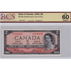 1954 Bank of Canada $2