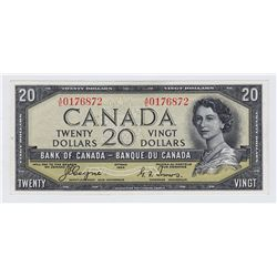 1954 Bank of Canada $20