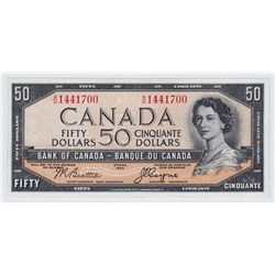 1954 Bank of Canada $50