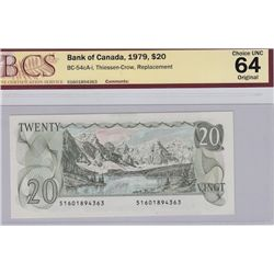 1979 Bank of Canada $20