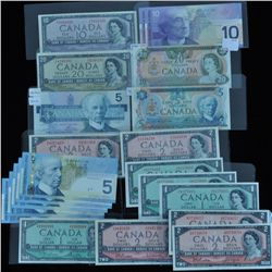 Bank of Canada Wholesale Lot - $119 Face Value