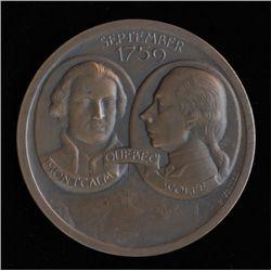 1759 - 1959 Bicentenary Battle of Quebec Medal