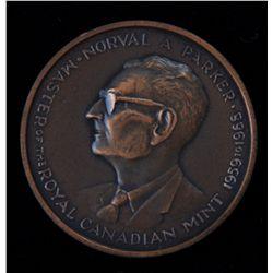 1959 - 1968 Norval Parker RCM Mintmaster Medal