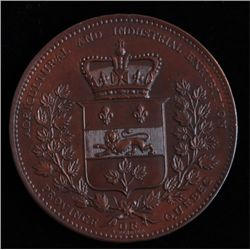 Province of Quebec Agriculture and Industrial Exhibition Medal